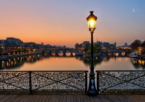 The Pont des Arts has a beautiful view from any side you look at.